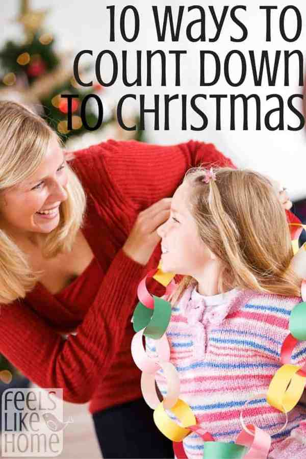 Are your kids like mine? They have such a hard time waiting! These activities help them count down the days til Christmas in a fun and meaningful way.