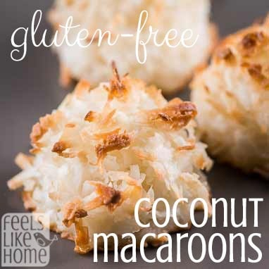 How to make the best coconut macaroons recipe - Simple and easy to make and gluten-free! Use egg whites to make these chewy and delicious cookies. This classic, traditional recipe uses almond extract.