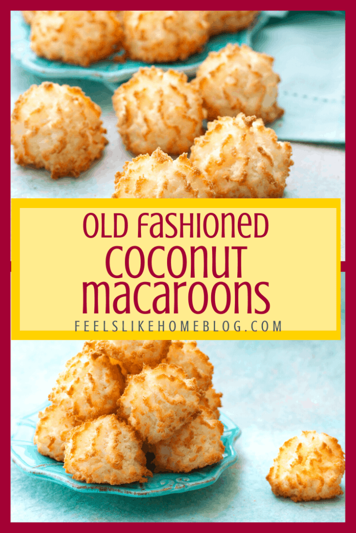 The Best Coconut Macaroon Recipe | Quick & Easy Gluten-Free Cookies