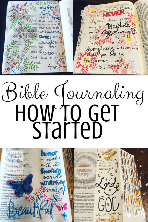 How to Get Started Bible Journaling - The Basics