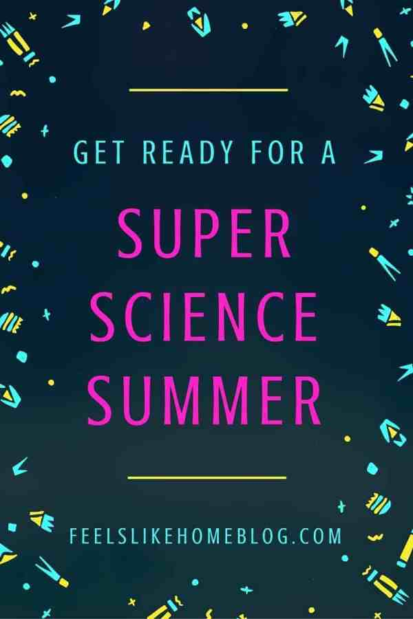 This is so cool! Science activities for every day of the summer! Even if you only use half of them, your kids will have a brains-on summer vacation!