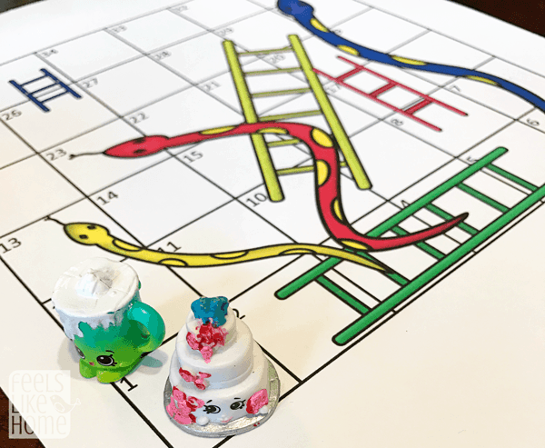 A Snakes and Ladders game