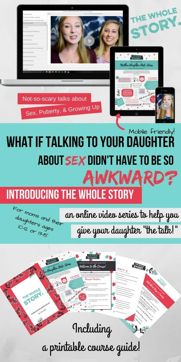 How To Talk To Your Daughter About Puberty and Sex