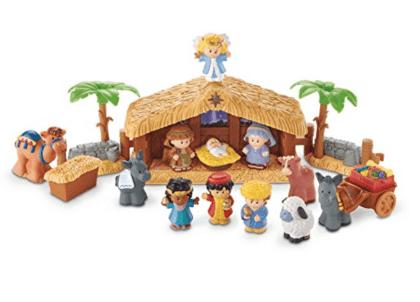 A Little People nativity