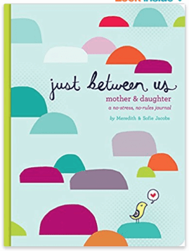 Just between us mother daughter journal