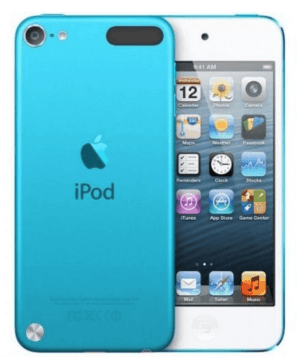 A close up of an iPod