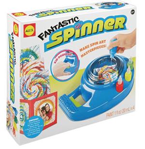 Spin art craft kit