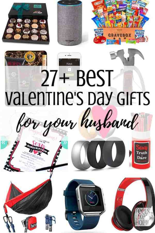 A collage of Valentine\'s Day gifts for men