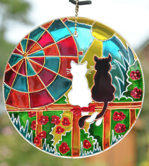cat suncatcher