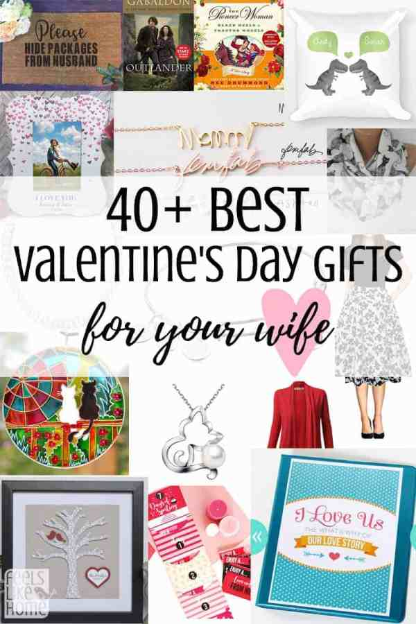 40 best valentines gift ideas for your wife feels like home these simple and easy valentines day gifts for her are perfect for a girlfriend or wife negle Choice Image