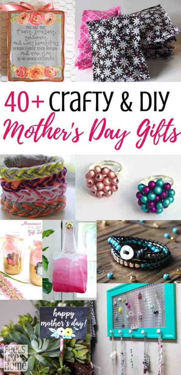 40 Easy Handmade Diy Mothers Day Gifts Feels Like Home