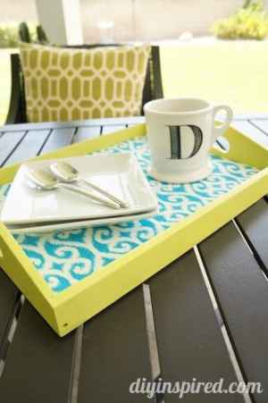 homemade serving tray