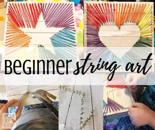 Step By Step String Art Tutorial For Beginners Feels Like Home