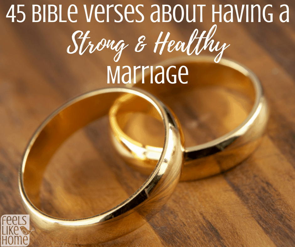 Marriage problems bible verses