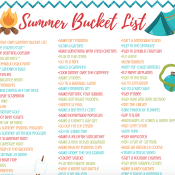 Summer Bucket List for Kids - Free Family Fun Printable