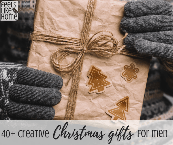 40 Creative Christmas Gift Ideas For Men Feels Like Home