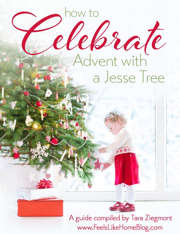 A girl with a Jesse tree