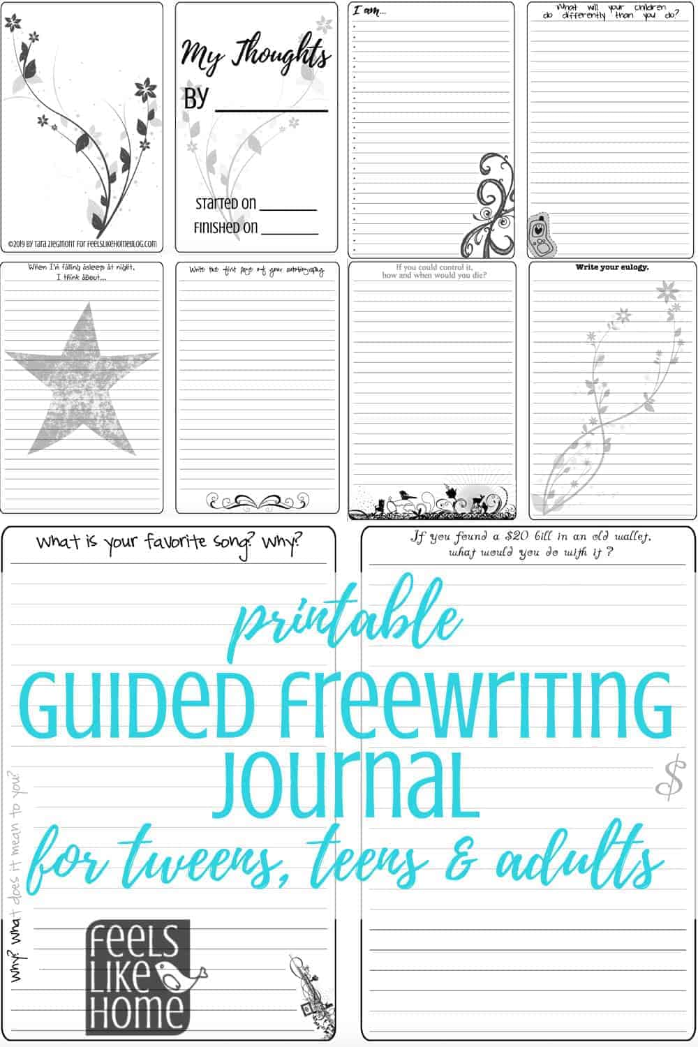 ️ Creative writing prompts list. 50 Quick Writing Prompts ...  |Journals For Adults