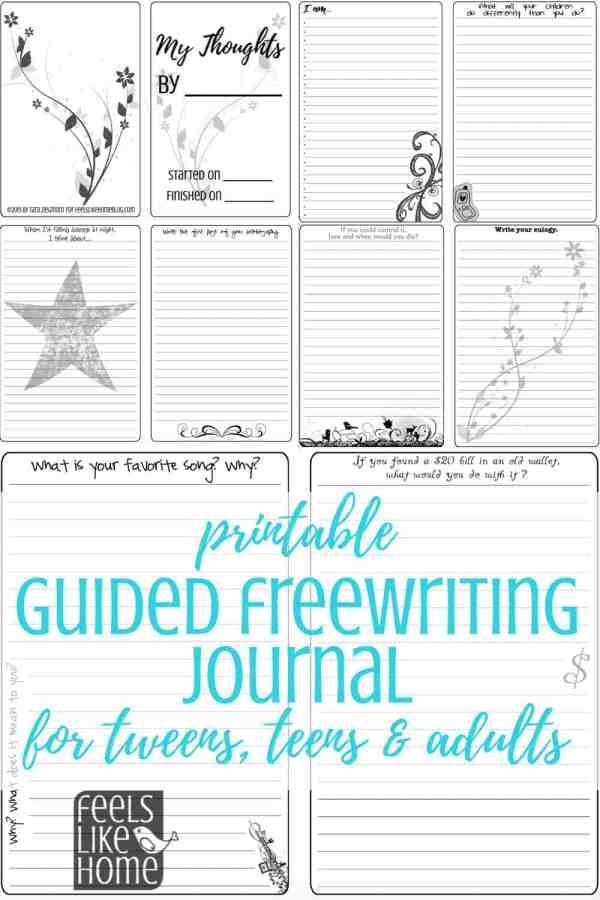 A printable journal