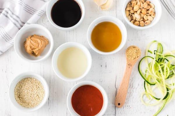 peanut sesame sauce ingredients