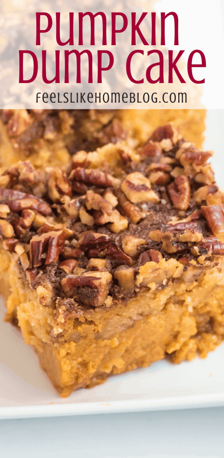 How to Make the Best Pumpkin Dump Cake