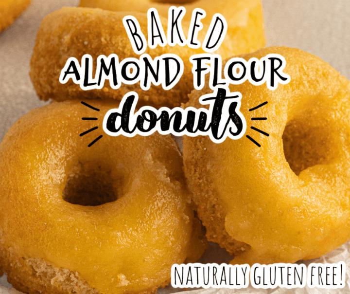 gluten free donuts with vanilla glaze