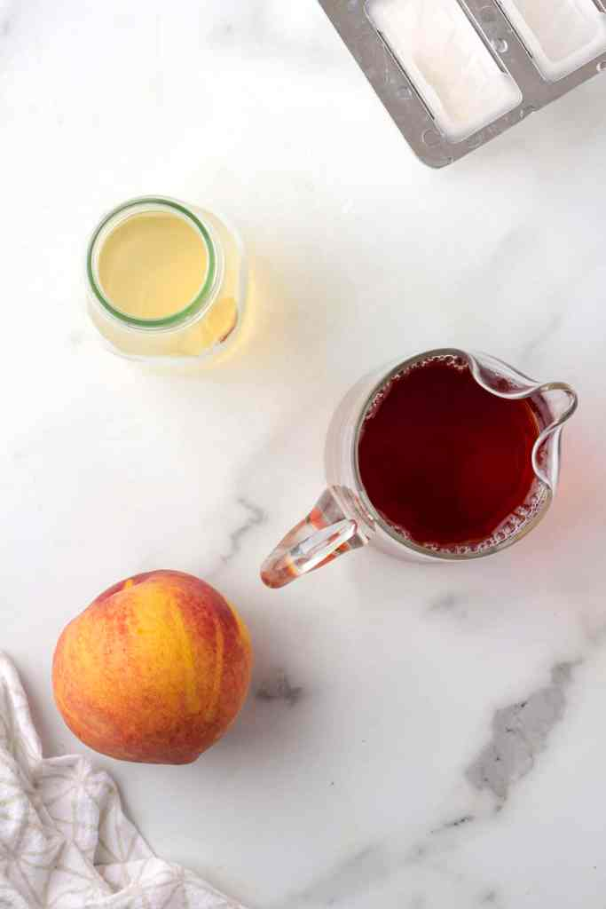peach iced tea popsicle ingredients