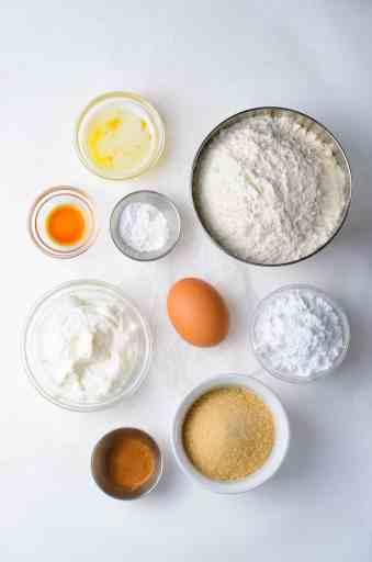 crumb donut ingredients