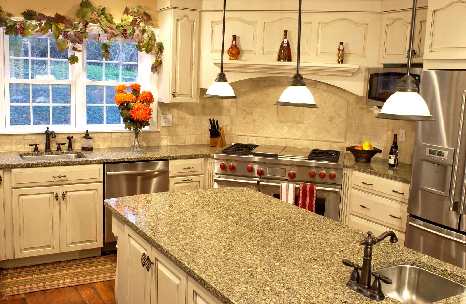 Cheap Countertop Ideas Kitchen | Feel The Home on Kitchen Counter Decor Modern  id=82785
