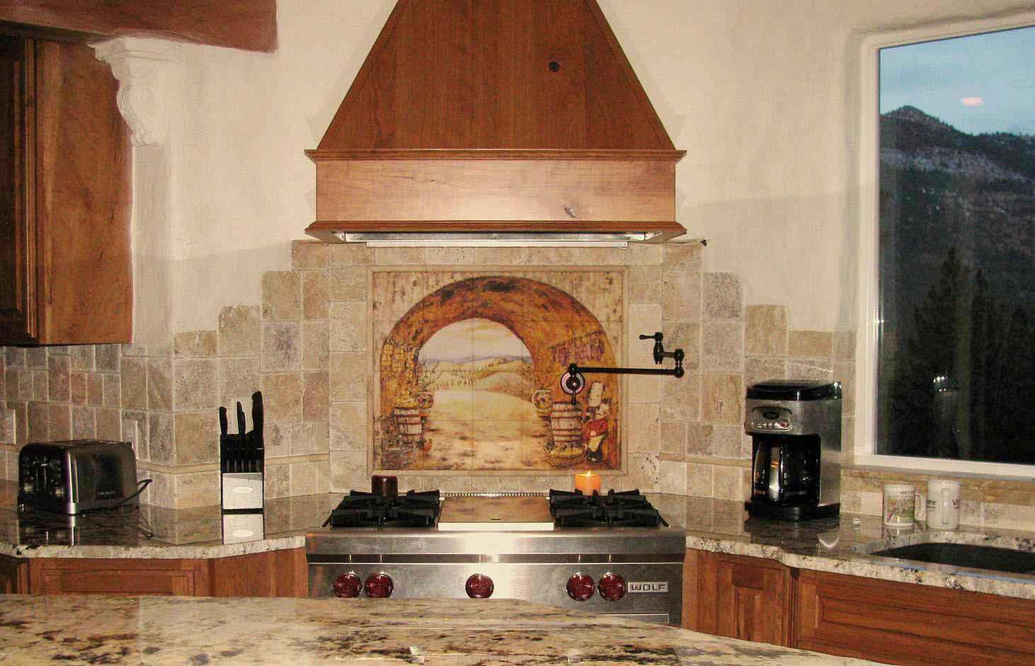 Backsplash Design Ideas for Your Kitchen on Granite Stove Backsplash  id=22640