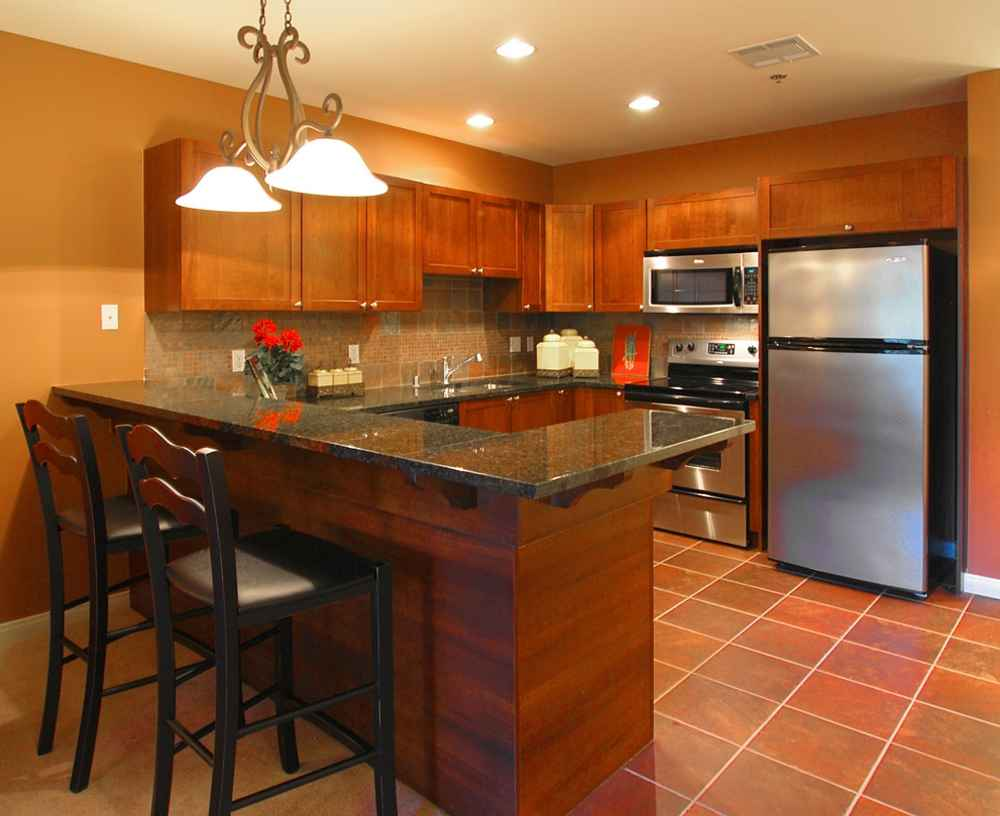 Cheap Countertop Ideas Kitchen | Feel The Home on Counter Top Decor  id=70617