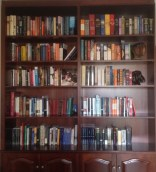 My new pride and joy, the bookcase of dreams!