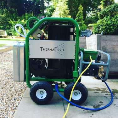 Feel the pressure UK, Therma-Tech superheated stone cleaner