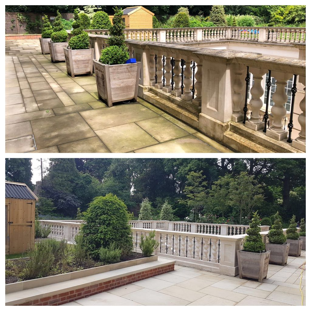 professional stone cleaning on the bishops avenue, highgate, london
