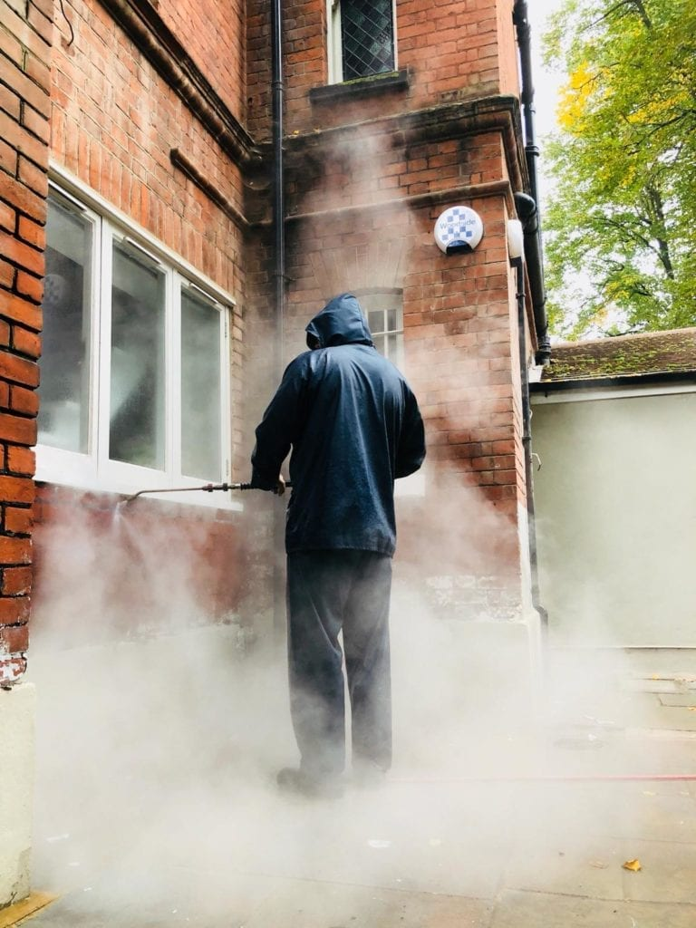 Residential brick cleaning Mayfair London W1 | Pressure