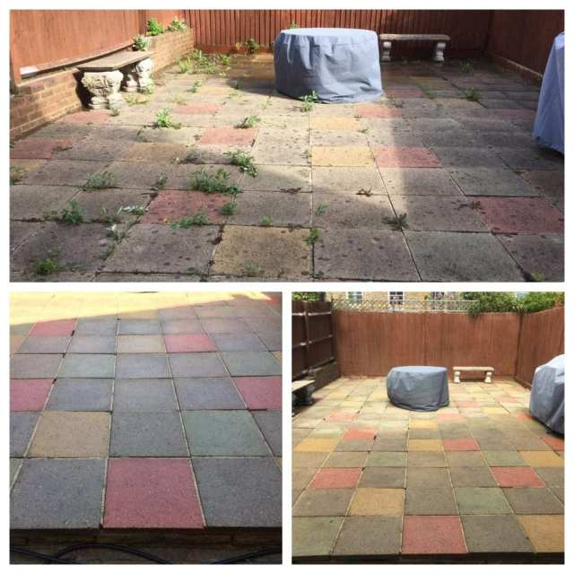patio cleaning service London Surrey