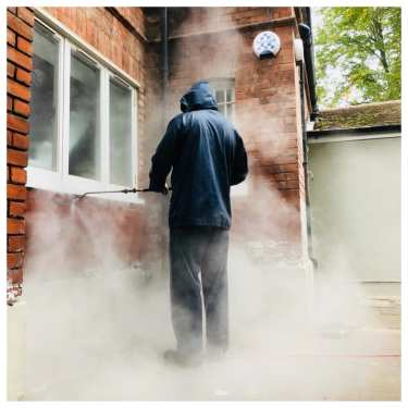 Therma-Tech cleaning red brickwork london