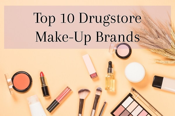 Top 10 Drugstore Make-Up Brands
