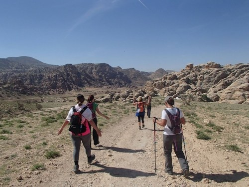 A Symphony of Happy Elements - Trekking in Jordan