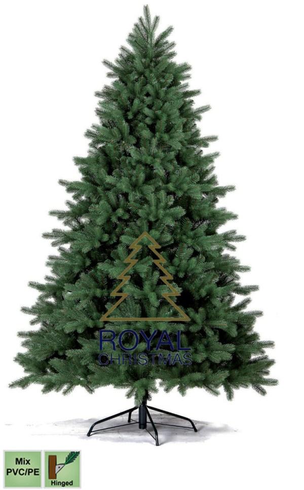 Kunstkerstboom Georgia PE / PVC Premium 180 cm