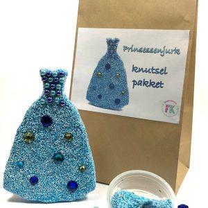 prinsessen jurk foam clay knutselpakket