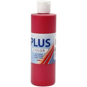 plus color acrylverf berry red