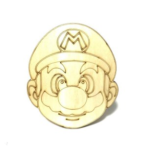 Super Mario houten figuur