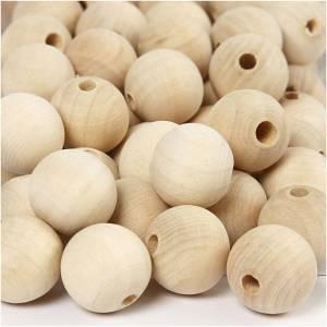 houten kralen D 20