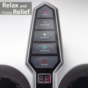 Belmint Shiatsu Foot Massager 5 Button Controls