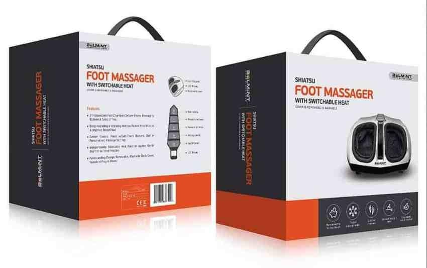 Belmint Shiatsu Foot Massager Box
