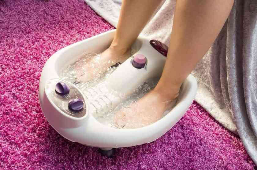 Epsom Salt Foot Bath
