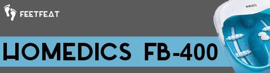 HoMedics FB-400 Banner