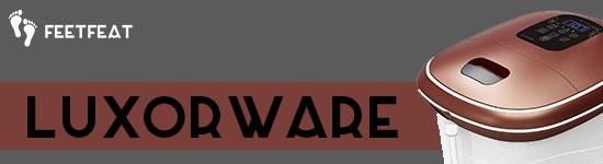 LuxorWare FMS100C Foot Spa Banner