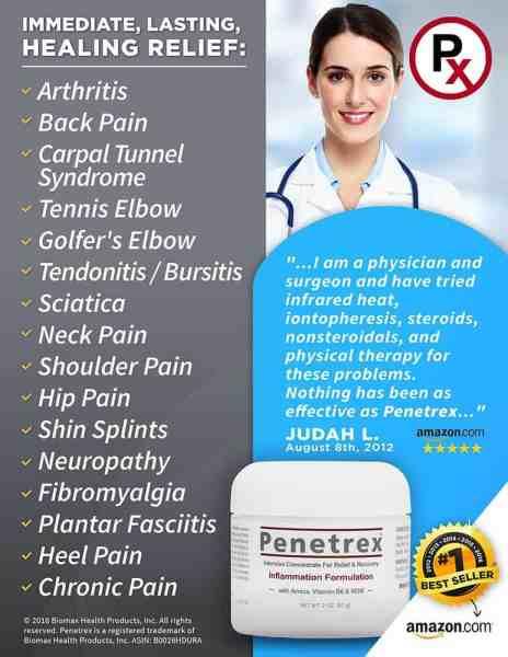 Penetrex Pain Relief